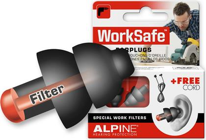 Alpine WorkSafe Earplugs 111.21.350