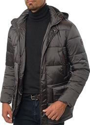 Ανδρικό Μπουφάν puffer Manetti casual winter grey