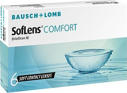 Bausch & Lomb SofLens Comfort Μυωπίας Μηνιαίοι 6pack