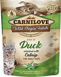 Carnilove Pouches Duck enriched with Catnip 85gr