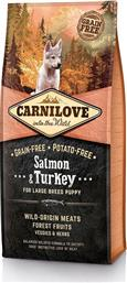 Carnilove Salmon & Turkey Large Breed Puppy 1.5kg