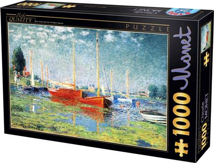 Claude Monet Red Boats at Argenteuil 2D 1000pcs