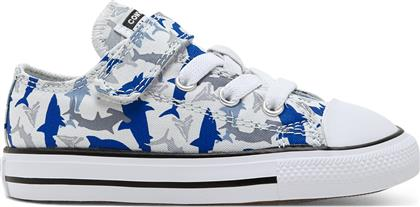 Converse CTAS 1V OX Photon Dust/Rush Blue/White 766892C