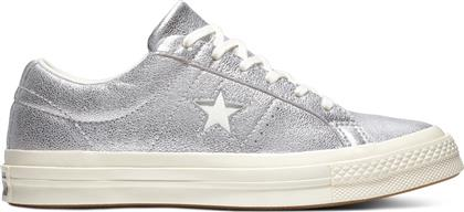 Converse One Star Metallic Leather Low Top