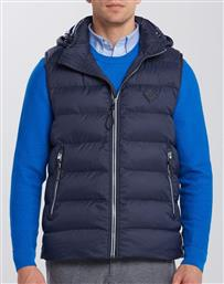 Gant Active Cloud Vest Navy από το Maroudas