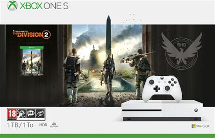 Microsoft Xbox One S 1TB & Tom Clancy's The Division 2 από το Public
