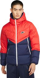 Nike Sportswear Down-Fill Windrunner Red από το HallofBrands