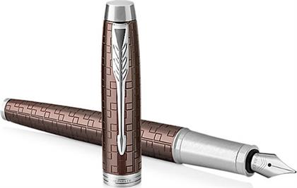Parker Πένα IM Premium Brown CT Fountain Pen