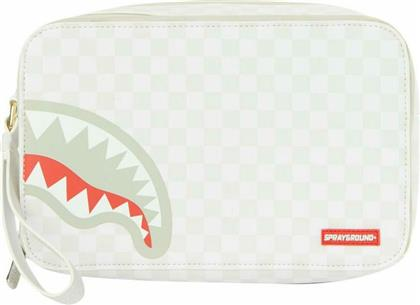 Sprayground Unisex Νεσεσέρ Sharks In Paris: Mean and Clean σε Λευκό χρώμα