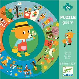 The Year 24pcs (07016) Djeco
