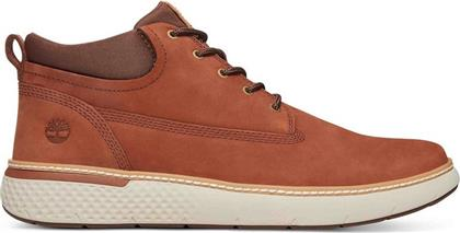 Timberland Cross Mark Plain Toe A1TQW-212 Cognac