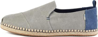 Toms Deconstructed Washed 10013214 Grey
