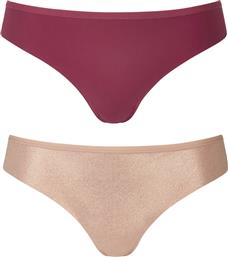 Triumph Festive Surprise Fashion Fit String 10199165-M002 2Pack Beige/Bordeaux από το Suc
