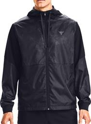 Under Armour Project Rock Legacy Windbreaker Black
